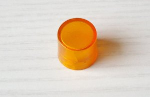 Knopf für LDT01- Rund, Orange
